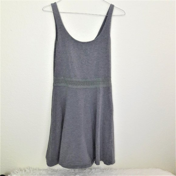 Abercrombie & Fitch Dresses & Skirts - Cotton gray skater dress by Abercrombie & Fitch M